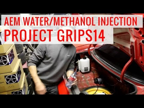 AEM Water/Methanol Injection How-to Install: Project GripS14