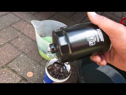 How To Change a Fuel Filter. Canister Type