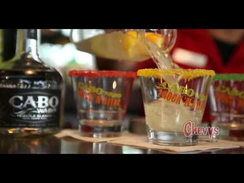 Chevys Fresh Mex - Catch a Wave and Cabo Wabo Rock 'n Rita