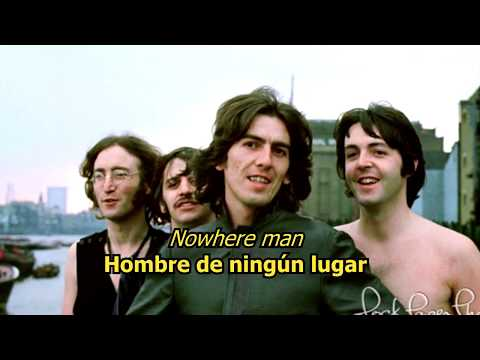 Nowhere man - The Beatles (LYRICS/LETRA) [Original]