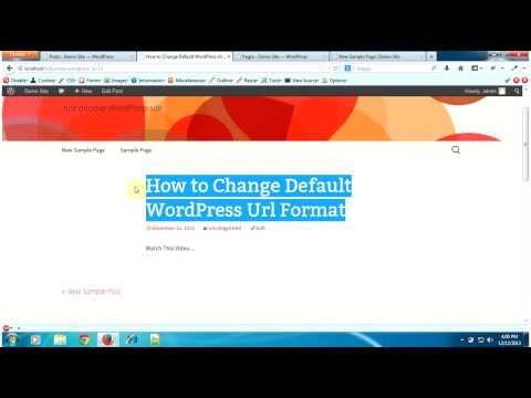How to Change Default WordPress URL Format to SEO Friendly