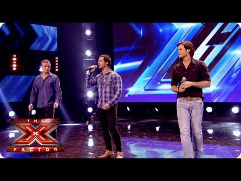 Next of Kin sing Amazed by Lonestar - Arena Auditions Week 3 - The X Factor 2013