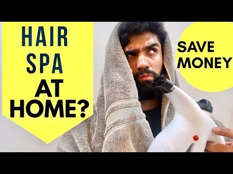 HAIR SPA AT HOME | 5 QUICK AND FREE STEPS  FOR SMOOTH HAIR