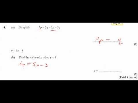 11x-Ma3 - Homework - Simplifying Expressions - Q4