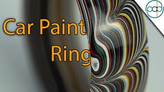Making a Fordite Ring (Pure Car Paint Ring)