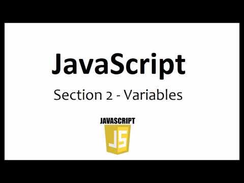 JavaScript - Variables