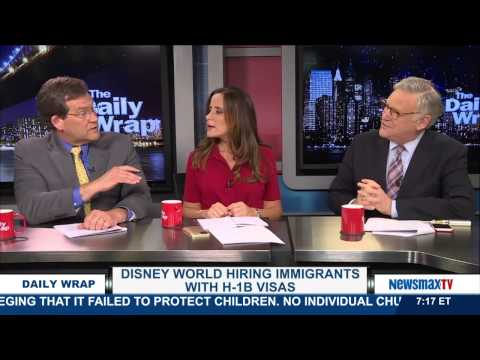 The Daily Wrap | Disney World Hiring Immigrants With H-1B Visas