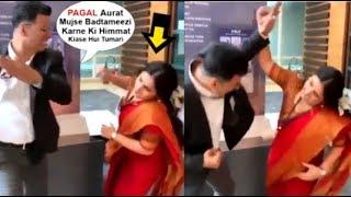 Akshay Kumar FUNNY Video HITTING Vidya Balan While Promoting Mission Mangal Movie