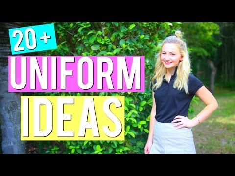20+ SCHOOL UNIFORM OUTFIT IDEAS | Kalista Elaine