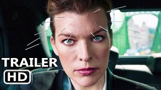THE ROOKIES Trailer (2021) Milla Jovovich, Action Movie