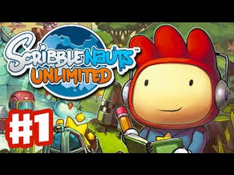 Scribblenauts Unlimited! Part 1: GET RID OF OLD MAN, STEP ON HIS LAWN.