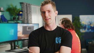 Linus Tech Tips - tech youtuber - technology reviewer - best super top person - music - SCREENSHOTZ