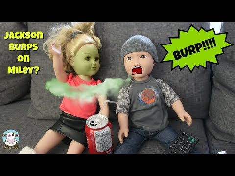 Baby Alive Jackson BURPS ON A DATE!!!