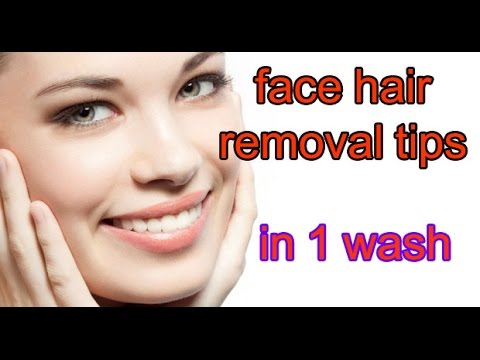 Remove Hair From Face At Home In Hindi And Urdu|Chehre Ke Baal Hataye Hindi And Urdu