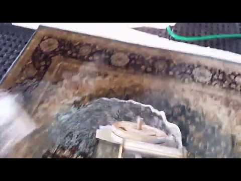 Persian rug cleaning by The Rug Genie (Murrieta California) with rug cleaning Tech Johnny Bremer