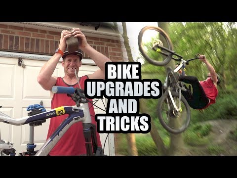 ENDURO BIKE UPGRADES AND A TRICK SESSION