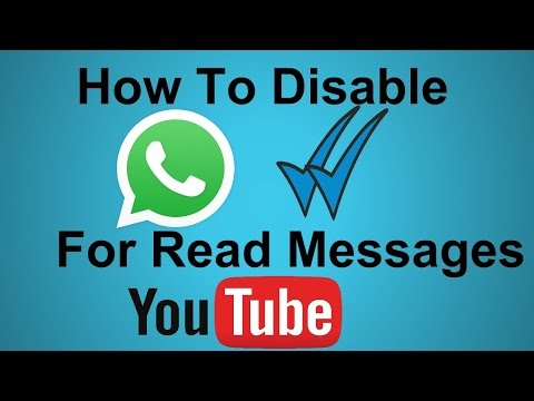 How to Turn off delivery report on whatsapp messenger