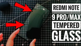 Redmi Note 9 Pro/ Pro Max Best Full Screen Tempered Glass