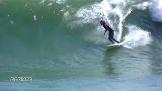 Goomer - Surfing Hurricane Gert RI - Aug 17, 2017
