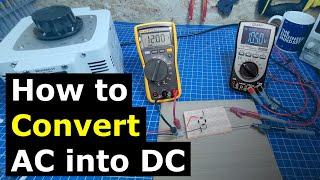 Full Bridge Rectifier - How to convert AC into DC  power electronics