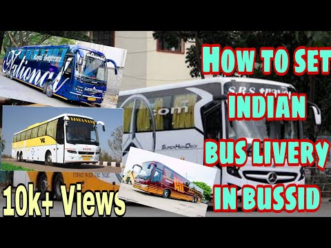 🔴 how to set indian bus livery(skin) & lights (decoration bus) in