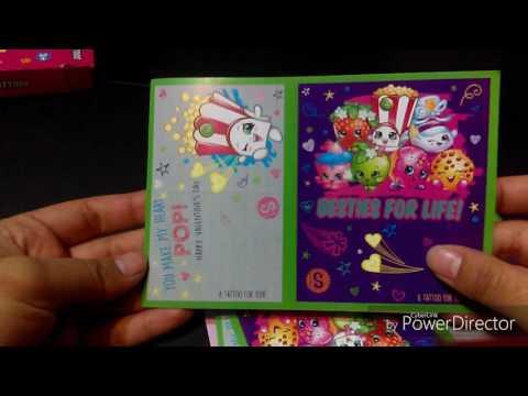 Shopkins and Teenage Mutant Ninja Turtles Valentine's Day Cards