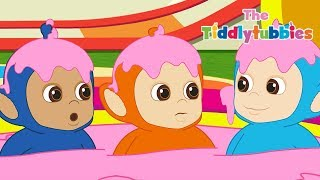 Teletubbies ★ NEW Tiddlytubbies Season 2! ★ Episode 5: Custard Slide Padding Pool! ★ Cartoon