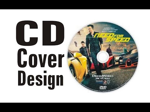 How to create a cd or dvd label or cover design using Corel Draw how to make a cover design for game