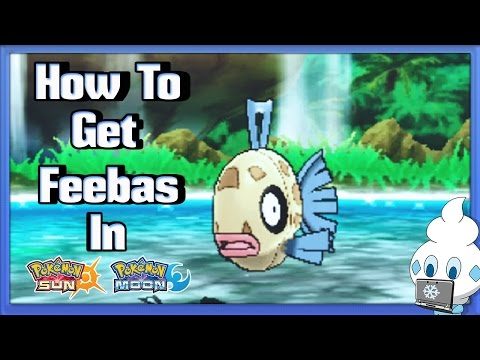 How to get Feebas in Pokémon Sun & Moon