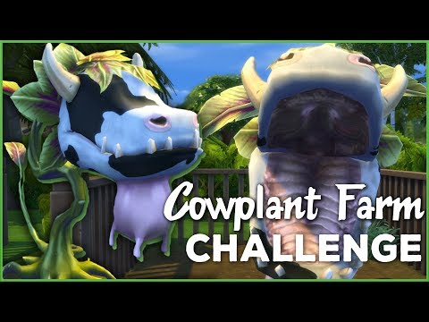 Hungry Hungry Cowplant!! 🐄🌱 Sims 4 Cowplant Farm: Episode #33