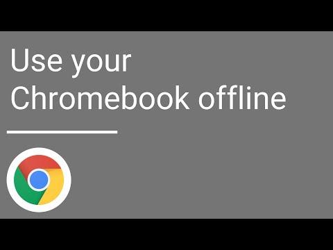 Use your Chromebook offline