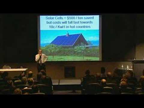 Green Roofs - save energy - global warming action, innovation, carbon reduction - energy speaker