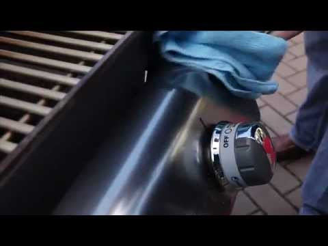 Weber Grills-Stainless Steel Cleaning