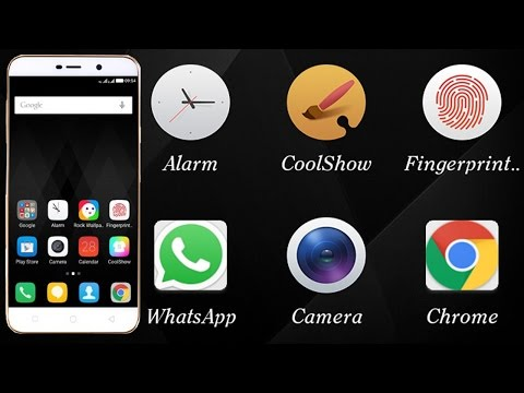 How to change font style of coolpad note 3 lite mobile phone