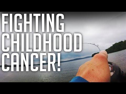 Fighting Childhood CANCER! || St. Judes Benefit Bass Tournament!