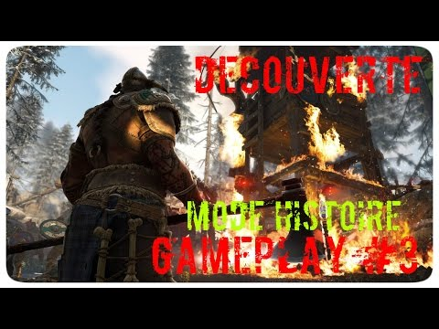Découverte For Honor Mode Histoire GamePlay #3