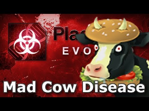 Plague Inc: Official Scenarios - Mad Cow Disease (Mega Brutal)