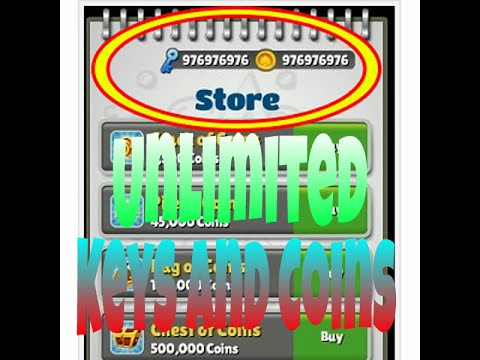 SUBWAY SURFERS CHEAT!UNLIMITED COINS AND KEYS!EASY