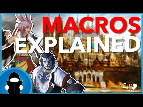 FFXIV Macro 101 Guide an Introduction for Beginners (and mabye some advanced tips too)