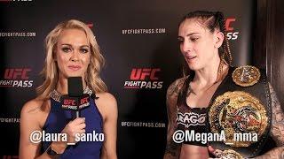 Invicta FC 21: Megan Anderson Post-Fight Interview