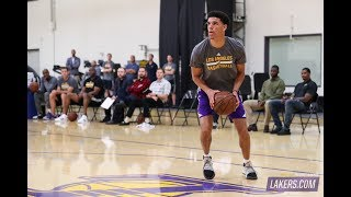 5 Things Learned From Lonzo Ball Solo Workout W/ LA Lakers