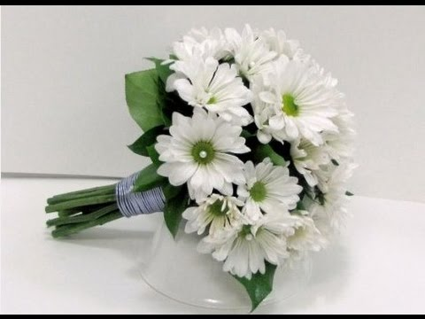 White Daisy Wedding Bouquet
