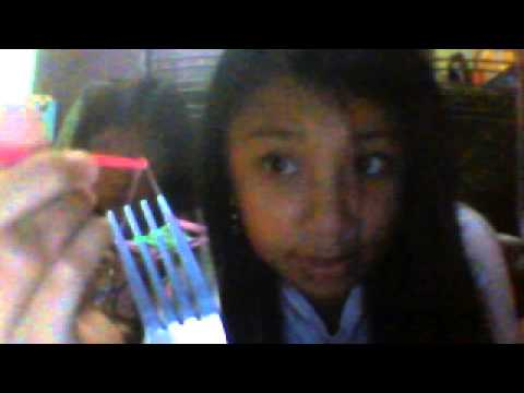 Making Double Locked Loom using Onlly TWO FORKS!!