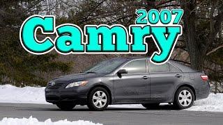 Regular Car Reviews: 2007 Toyota Camry LE
