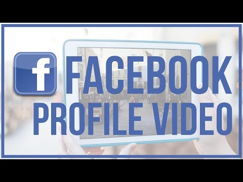 How To Create A Facebook Profile VIDEO - Animated Profile Image