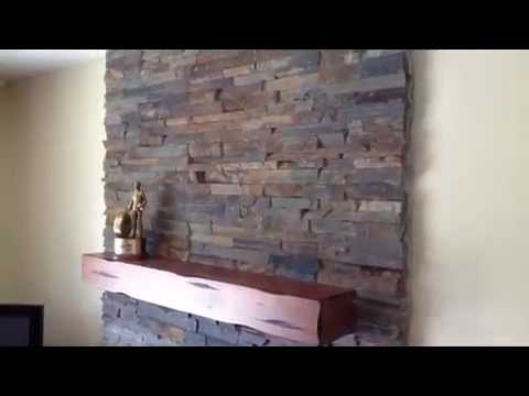 Stone Veneer Panels Fireplace Natural Stone