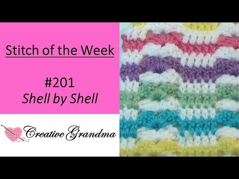 (Stitch Of The Week) Shell By Shell - FREE PATTERN