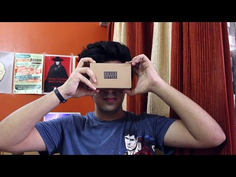 Exploring Virtual Reality with the OnePlus VR Cardboard!