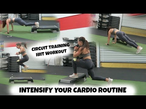 INTENSIFY Your Cardio Routine | Circuit Training HIIT Workout
