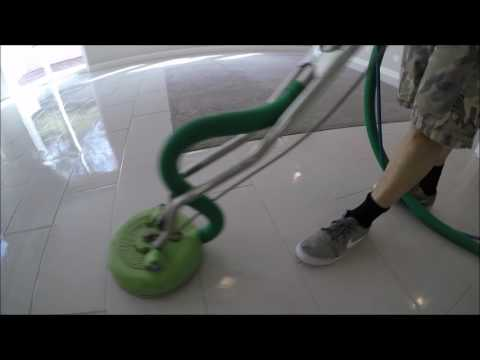 porcelain tile & grout cleaning